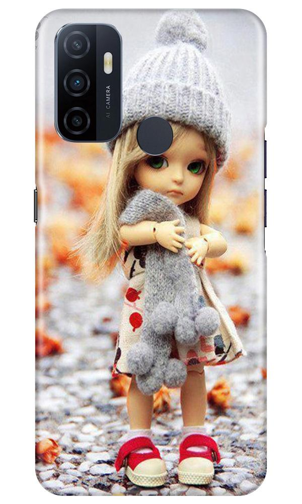 Cute Doll Case for Oppo A53