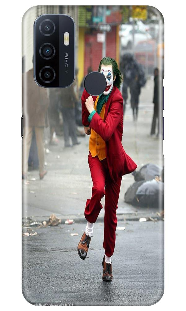 Joker Mobile Back Case for Oppo A33 (Design - 303)