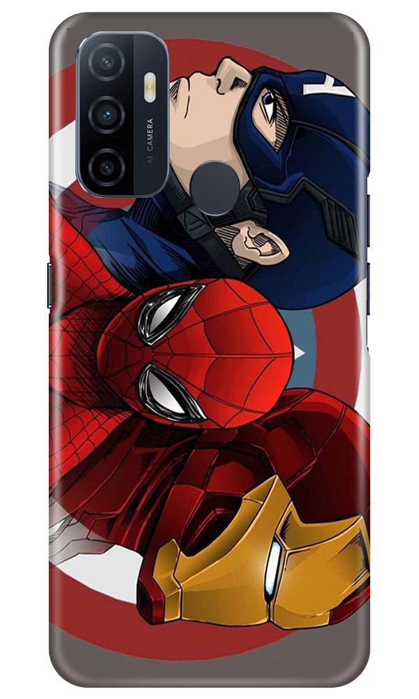 Superhero Mobile Back Case for Oppo A33 (Design - 311)