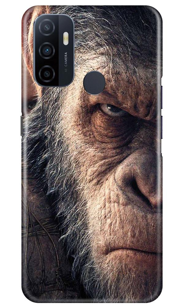 Angry Ape Mobile Back Case for Oppo A53 (Design - 316)