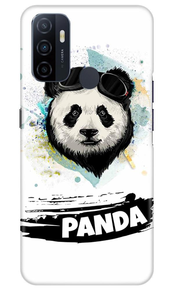 Panda Mobile Back Case for Oppo A33 (Design - 319)