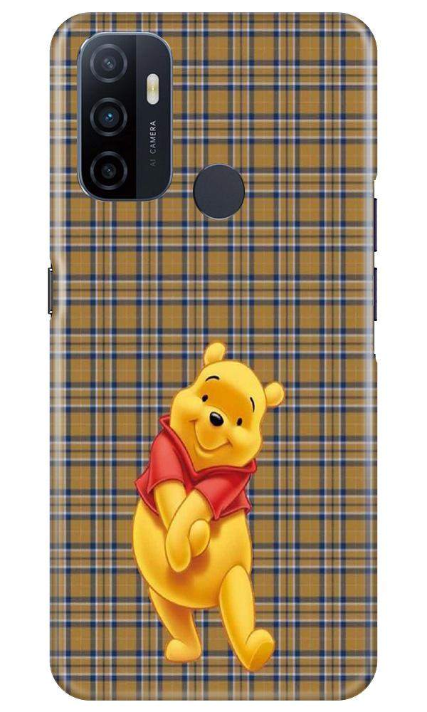 Pooh Mobile Back Case for Oppo A33 (Design - 321)