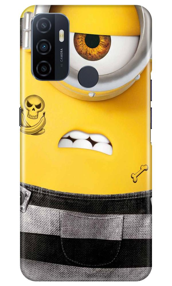 Minion Mobile Back Case for Oppo A33 (Design - 324)