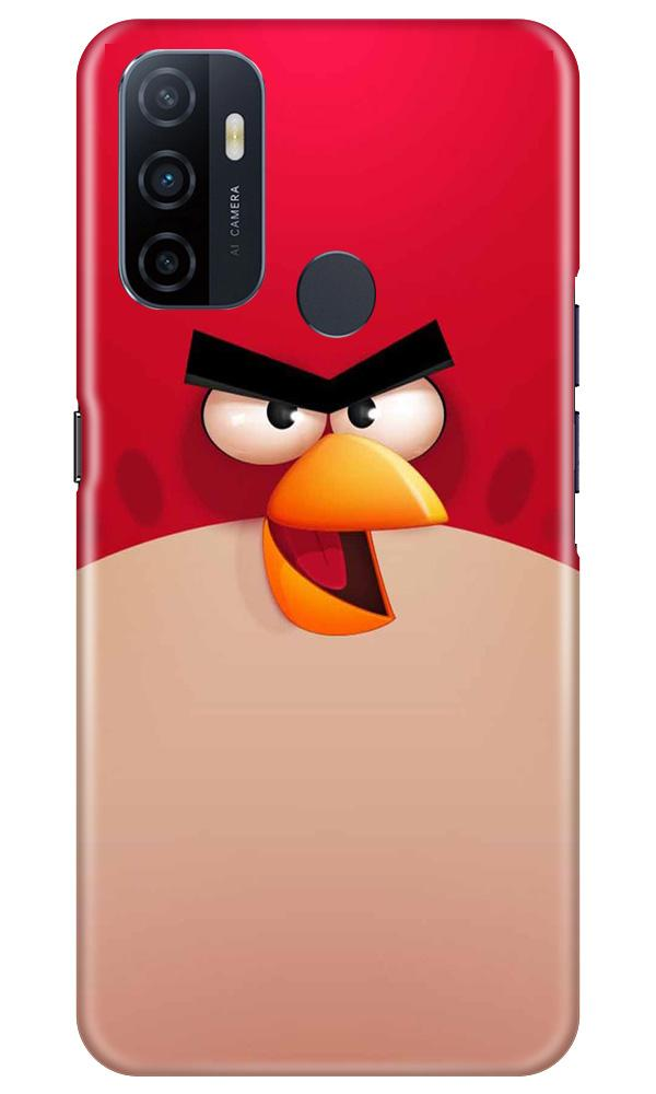 Angry Bird Red Mobile Back Case for Oppo A33 (Design - 325)