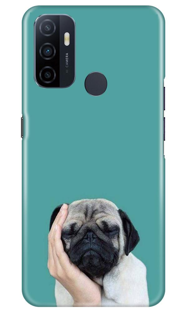 Puppy Mobile Back Case for Oppo A53 (Design - 333)