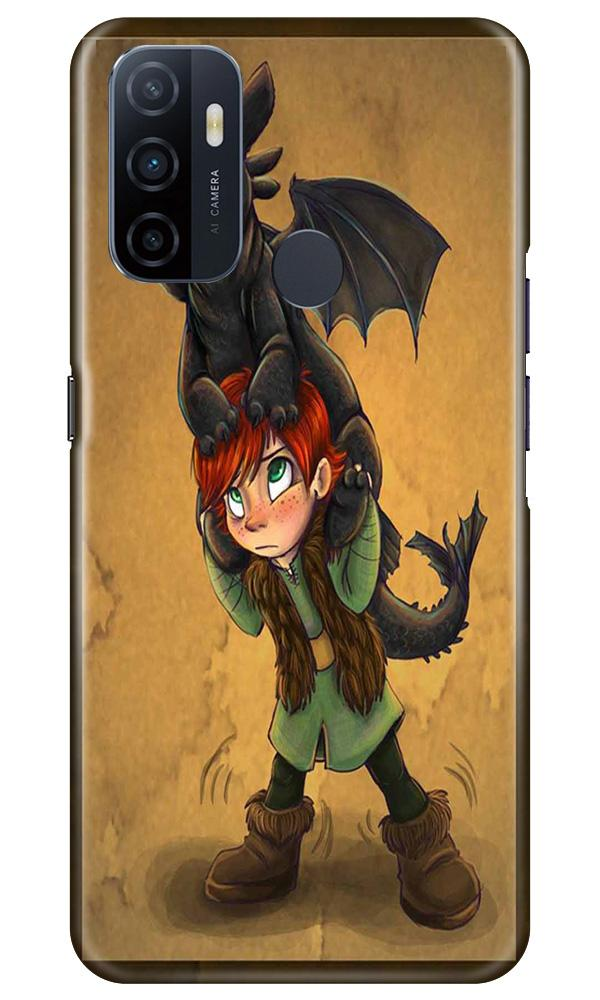 Dragon Mobile Back Case for Oppo A33 (Design - 336)