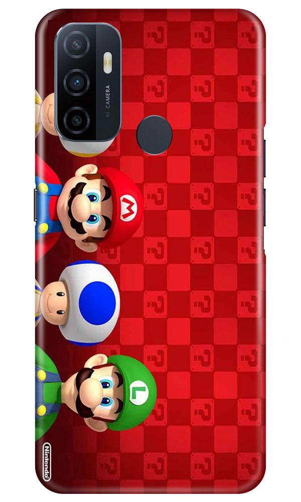 Mario Mobile Back Case for Oppo A33 (Design - 337)