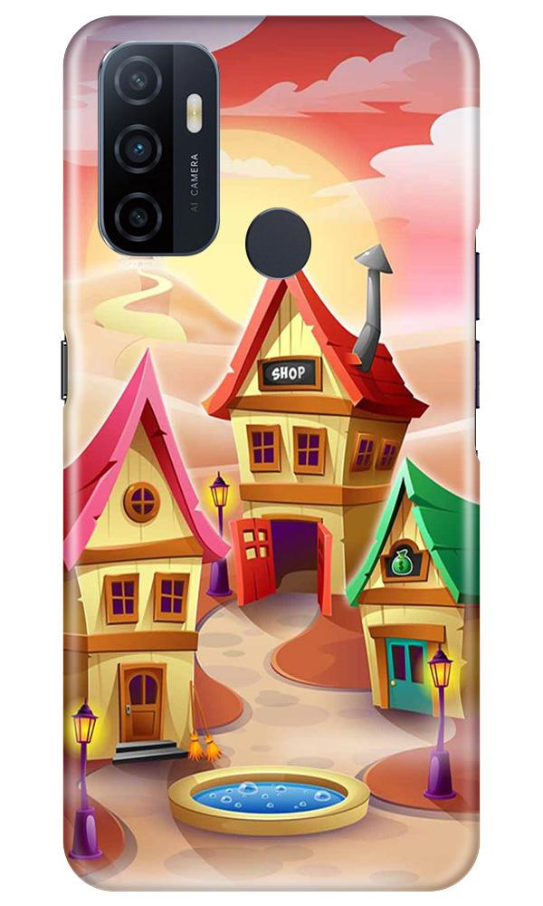 Sweet Home Mobile Back Case for Oppo A33 (Design - 338)