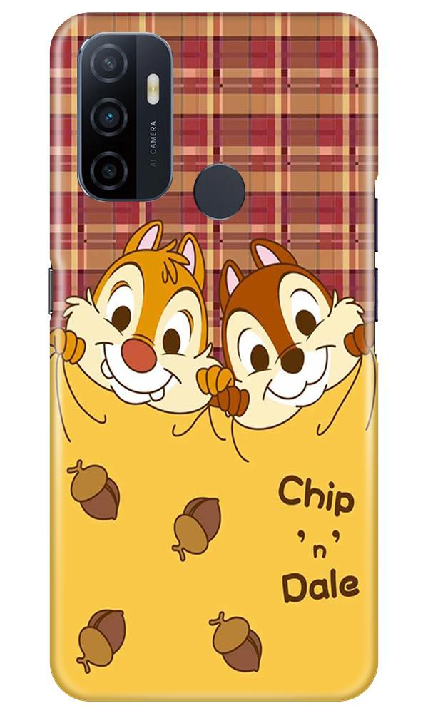 Chip n Dale Mobile Back Case for Oppo A33 (Design - 342)