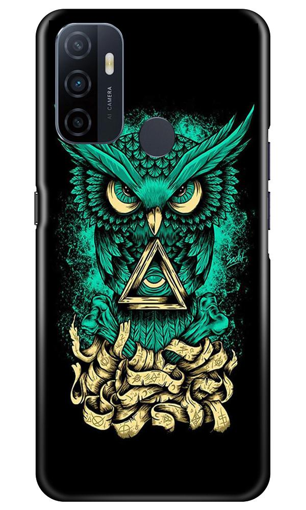 Owl Mobile Back Case for Oppo A33 (Design - 358)