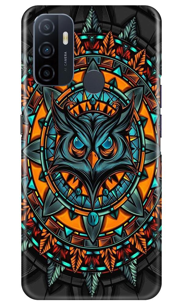 Owl Mobile Back Case for Oppo A33 (Design - 360)