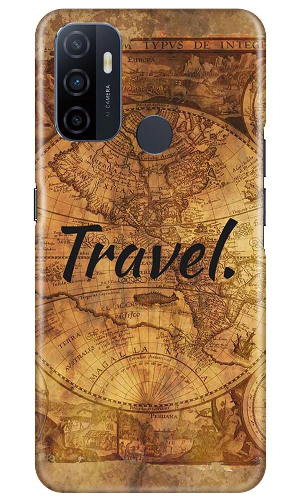 Travel Mobile Back Case for Oppo A33 (Design - 375)