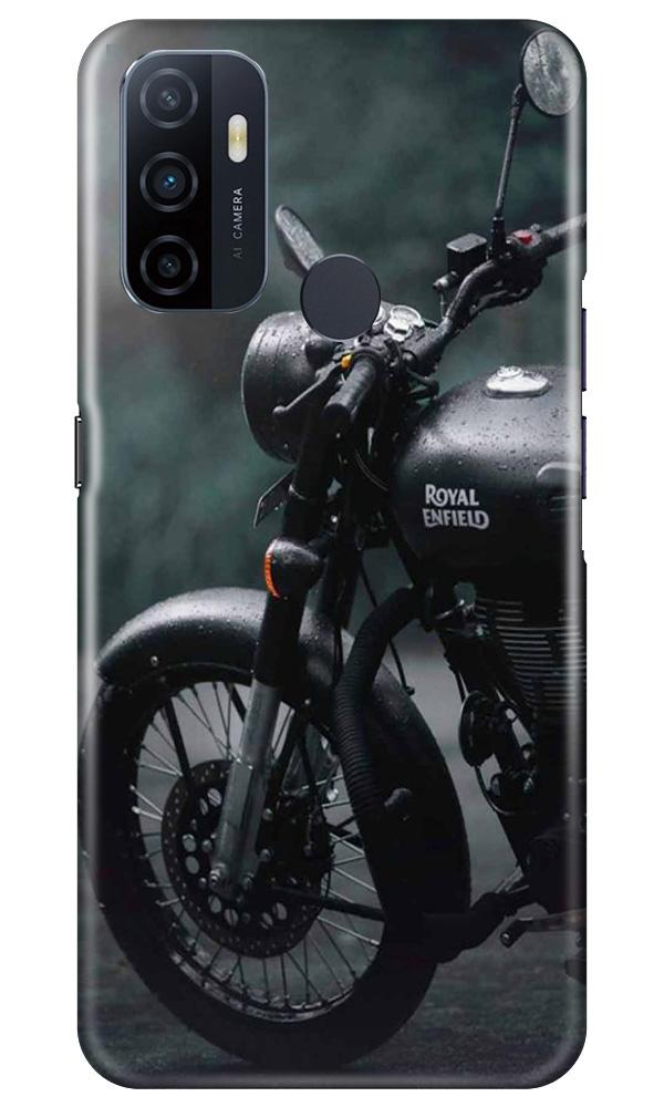 Royal Enfield Mobile Back Case for Oppo A53 (Design - 380)