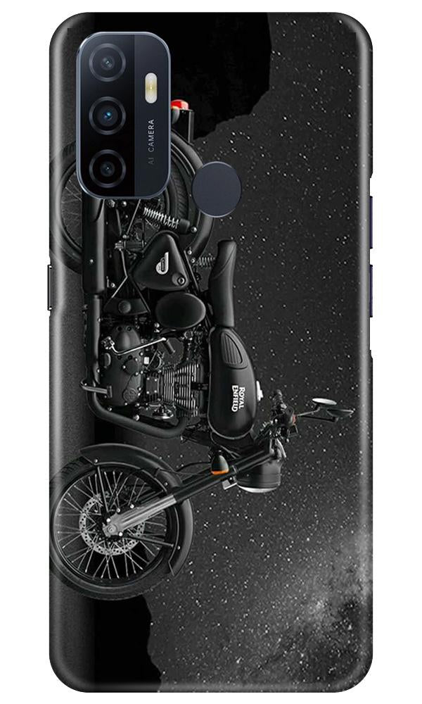 Royal Enfield Mobile Back Case for Oppo A53 (Design - 381)