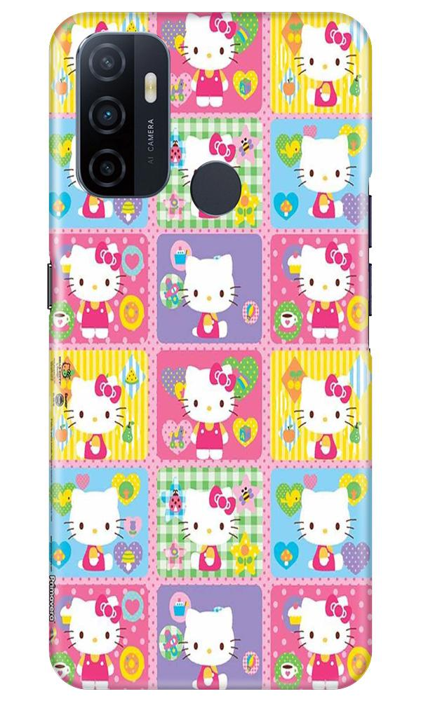 Kitty Mobile Back Case for Oppo A33 (Design - 400)