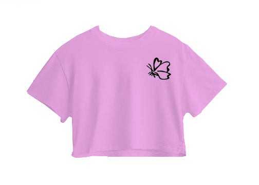 Butterfly Crop Top