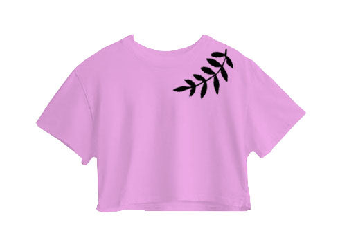 Leaves Crop Top