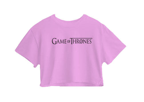 Game of Thrones Crop Top