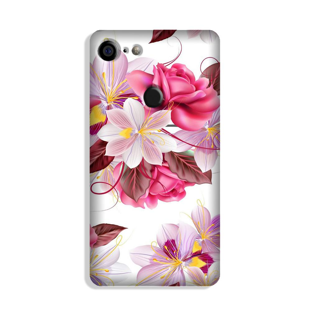 Beautiful flowers Case for Google Pixel 3