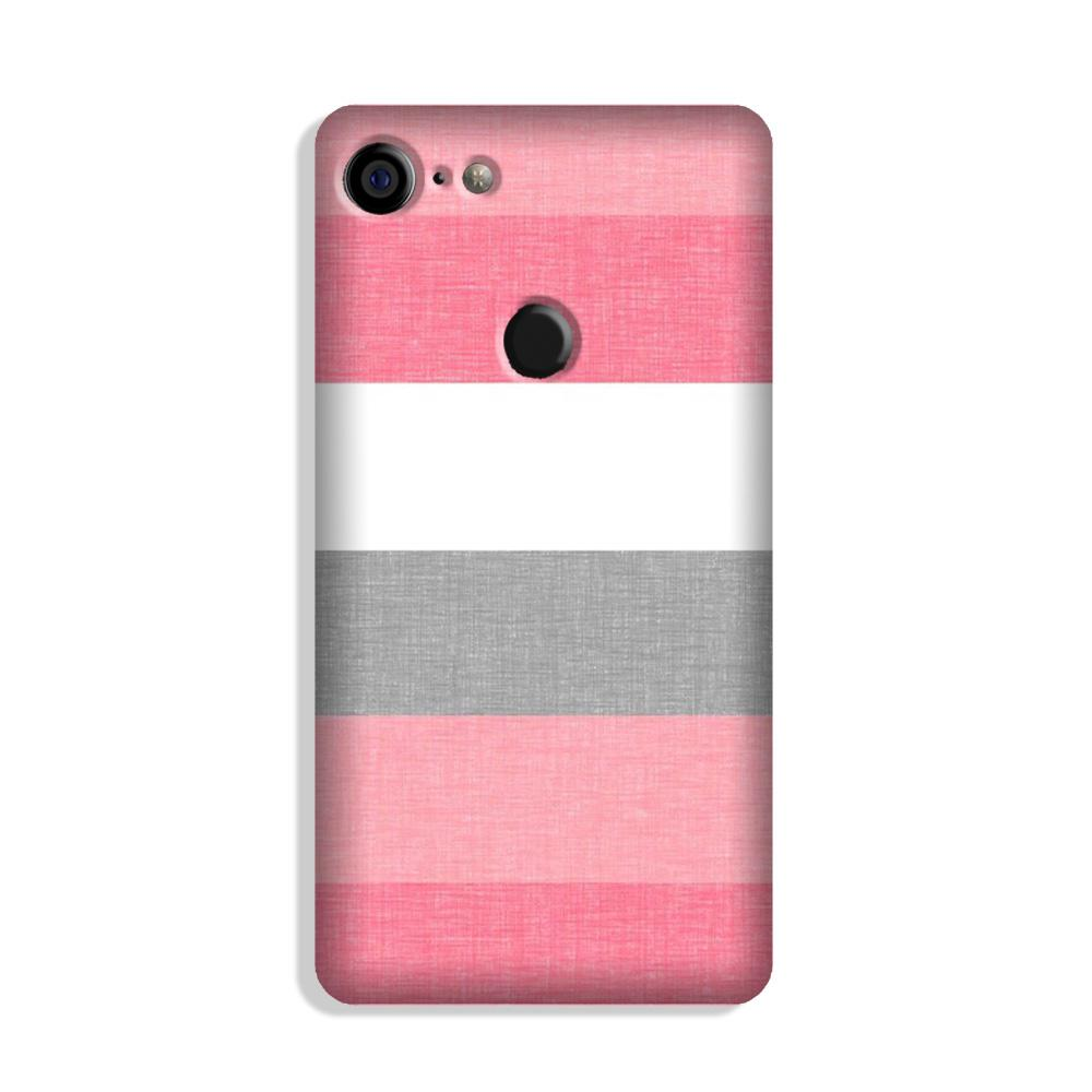 Pink white pattern Case for Google Pixel 3