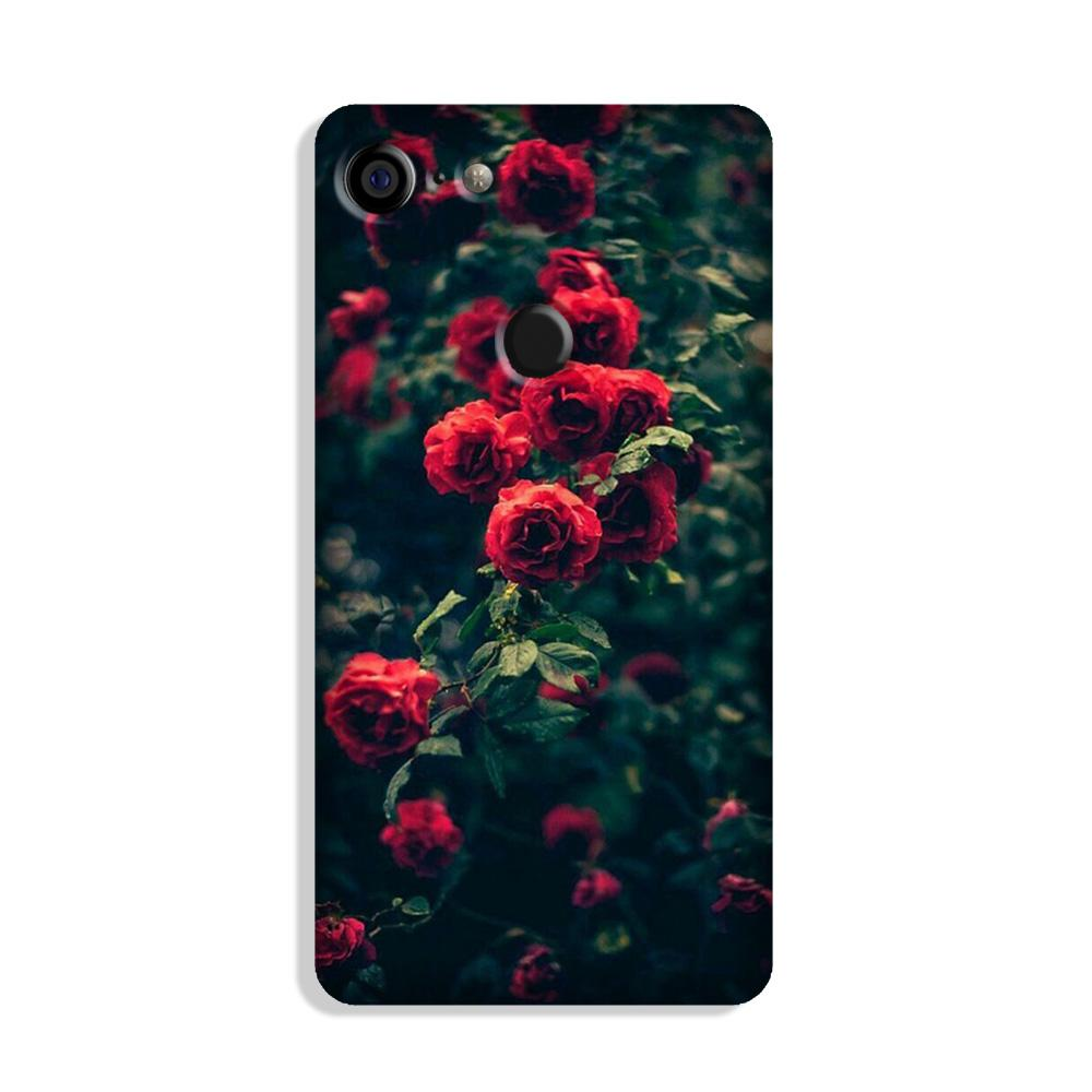 Red Rose Case for Google Pixel 3