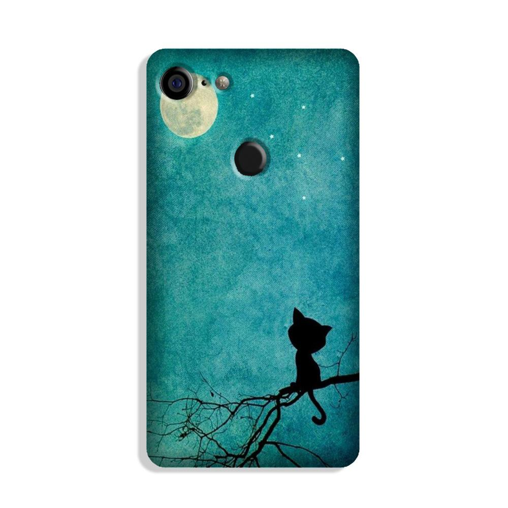 Moon cat Case for Google Pixel 3