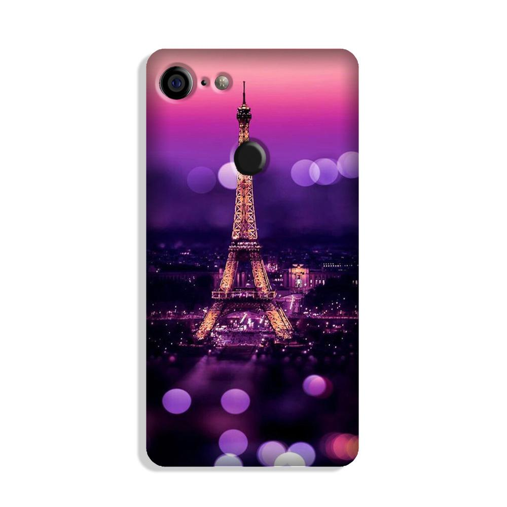 Eiffel Tower Case for Google Pixel 3
