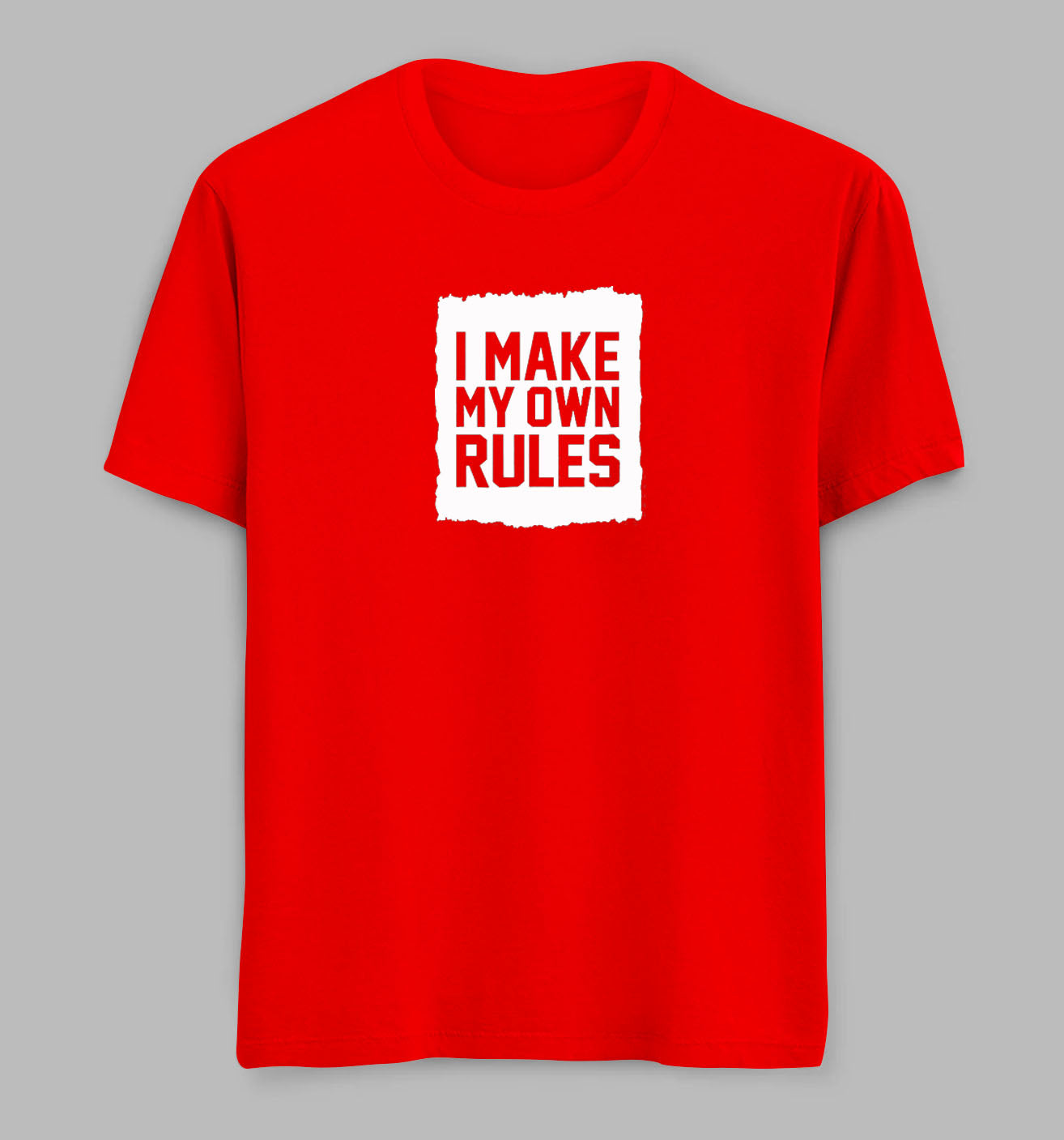 Make Own Rules Tees/ Tshirts
