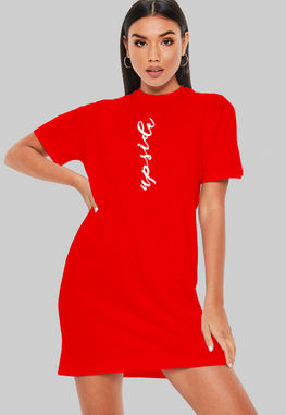 Upside T-Shirt Dress