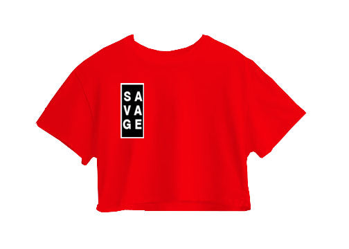 Savage Crop Top