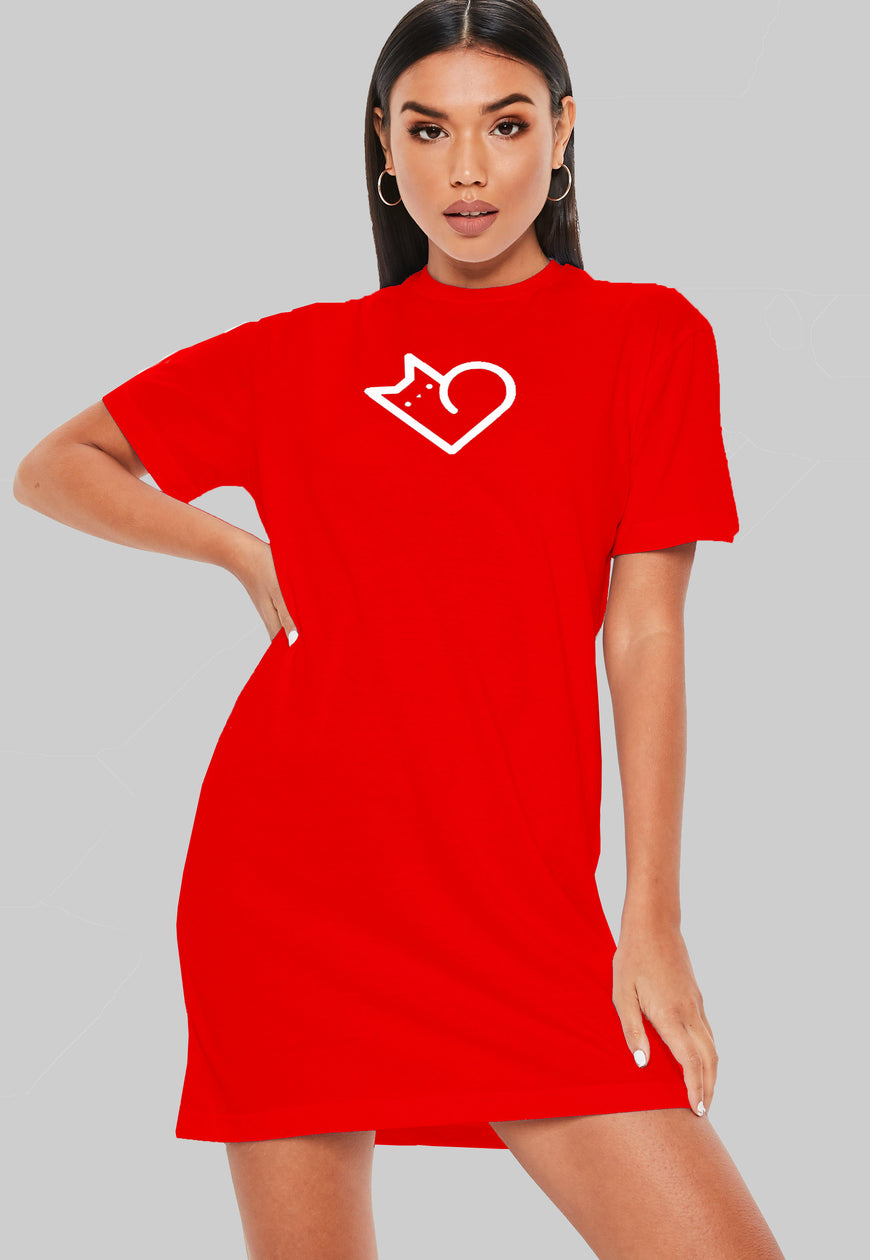Love T-Shirt Dress
