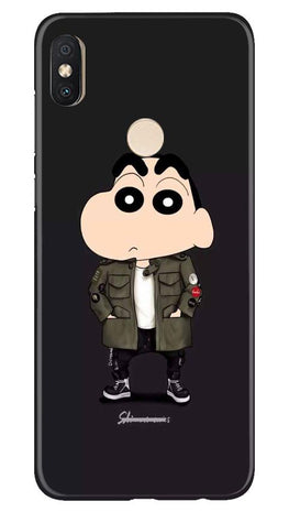 Shin Chan Mobile Back Case for Redmi Y2 (Design - 391)