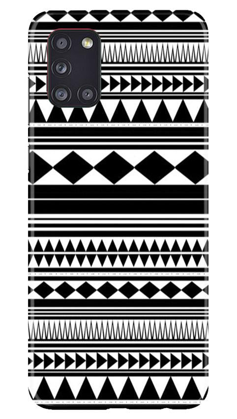 Black white Pattern Case for Samsung Galaxy A31
