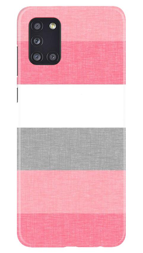 Pink white pattern Case for Samsung Galaxy A31