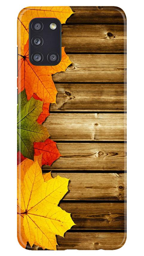 Wooden look3 Case for Samsung Galaxy A31