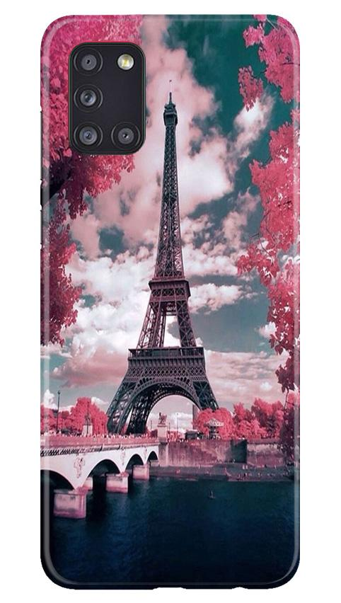 Eiffel Tower Case for Samsung Galaxy A31  (Design - 101)