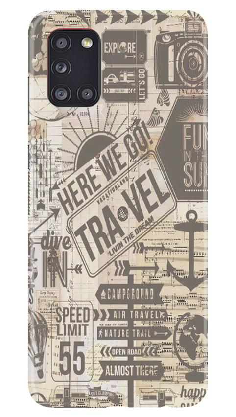 Travel Case for Samsung Galaxy A31  (Design - 104)