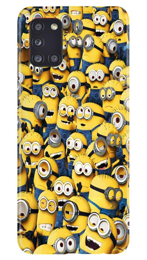 Minions Case for Samsung Galaxy A31  (Design - 126)