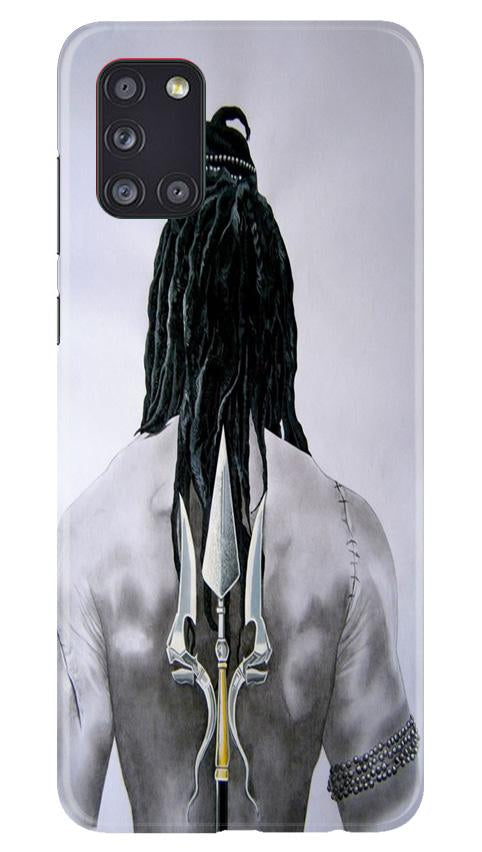 Lord Shiva Case for Samsung Galaxy A31  (Design - 135)