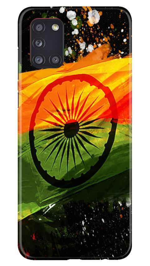 Indian Flag Case for Samsung Galaxy A31  (Design - 137)
