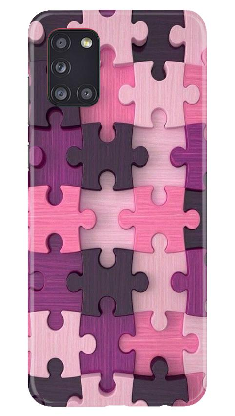 Puzzle Case for Samsung Galaxy A31 (Design - 199)