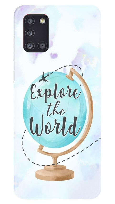 Explore the World Case for Samsung Galaxy A31 (Design No. 207)