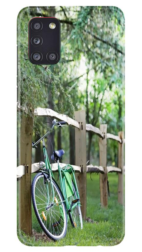 Bicycle Case for Samsung Galaxy A31 (Design No. 208)