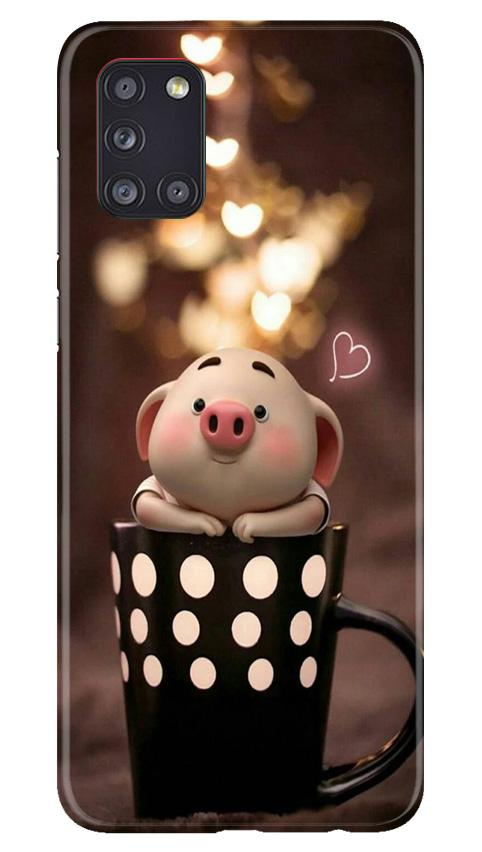 Cute Bunny Case for Samsung Galaxy A31 (Design No. 213)