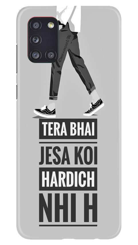 Hardich Nahi Case for Samsung Galaxy A31 (Design No. 214)