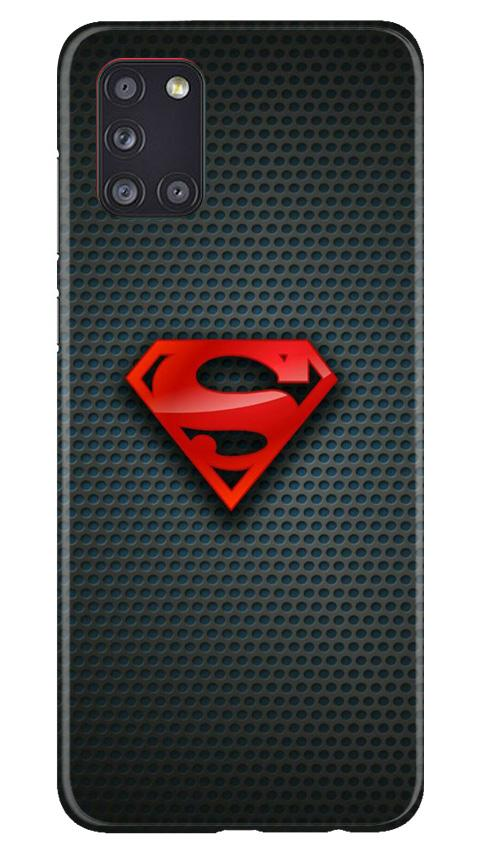 Superman Case for Samsung Galaxy A31 (Design No. 247)