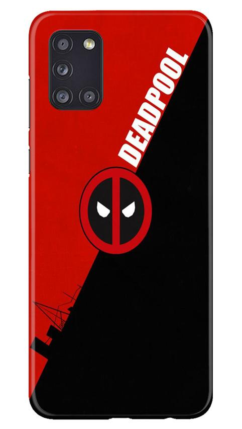 Deadpool Case for Samsung Galaxy A31 (Design No. 248)