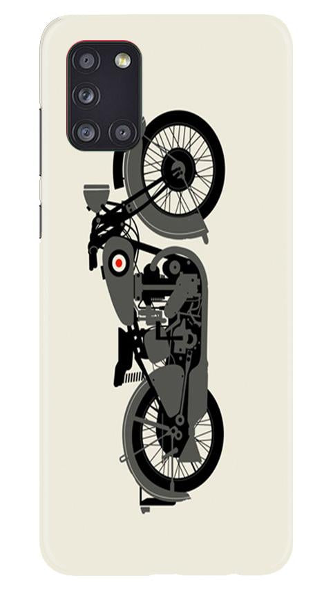 MotorCycle Case for Samsung Galaxy A31 (Design No. 259)