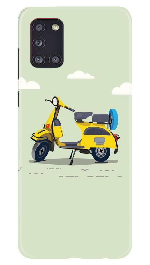 Vintage Scooter Case for Samsung Galaxy A31 (Design No. 260)