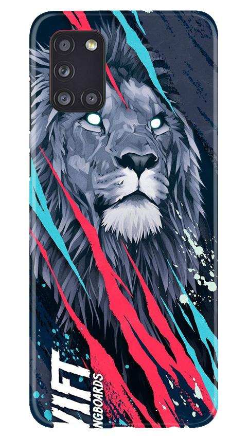 Lion Case for Samsung Galaxy A31 (Design No. 278)
